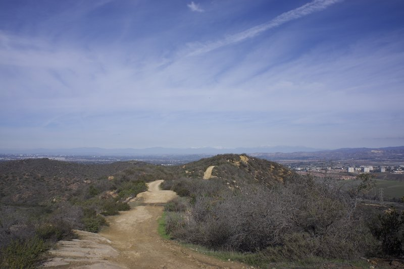 Serrano Ridge Trail at Laguna Coast Wilderness Park