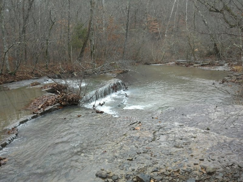 Knuckles Creek crossing