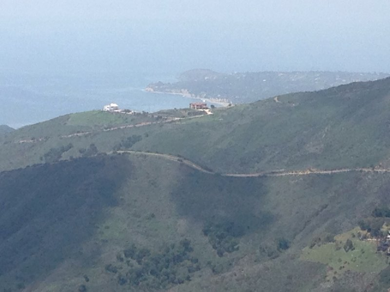 The Pacific Ocean from the Backbone Trail