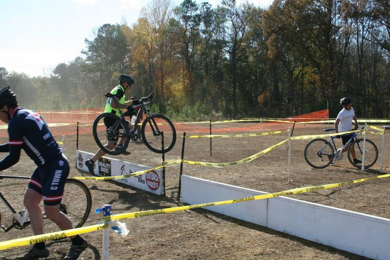 Racing cyclocross at Boundary Waters