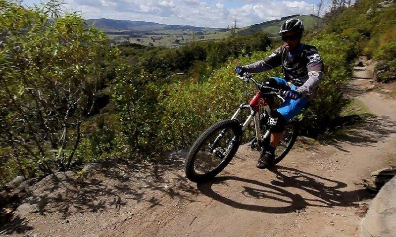 Views from the W2K mountain bike trail