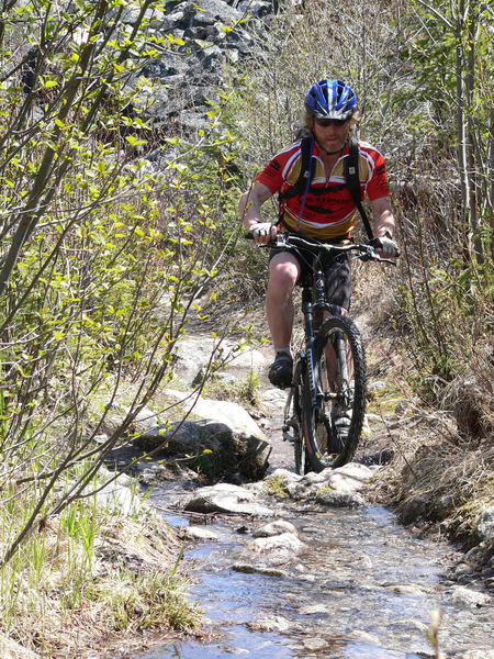 A touch of spring runoff for extra fun