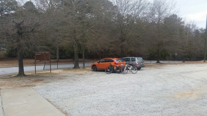 Stowers Parking Area