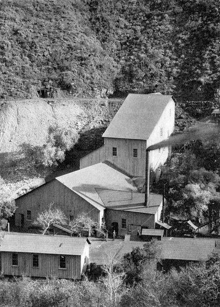 Santa Ana Tin Mine, Trabuco Canyon, April 1903