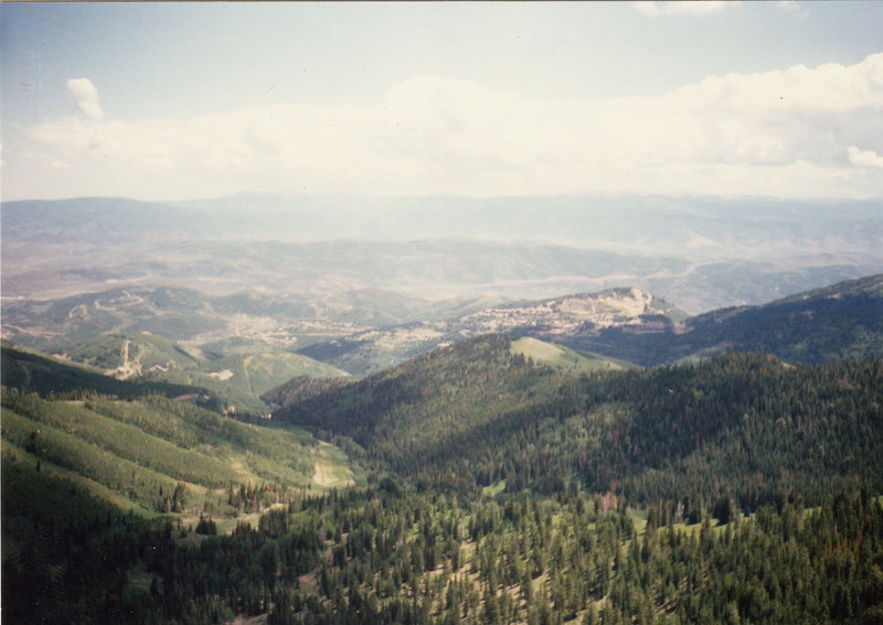 Some great views from the top of Juniper Peak Road.