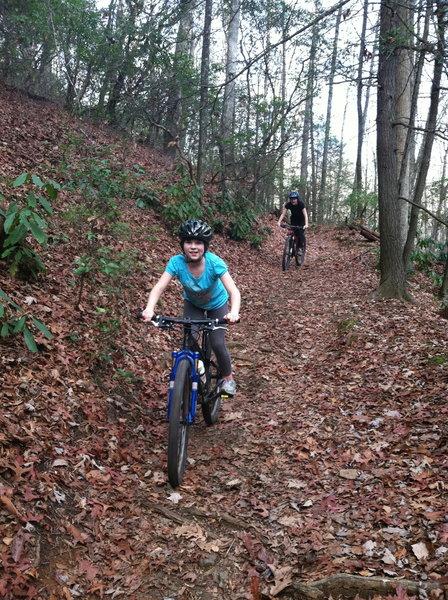 Group Ride on Cove Creek loop
