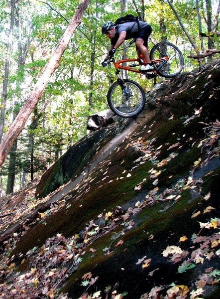 Stinger provides a bunch of gnarly Boulder-Riding opportunities