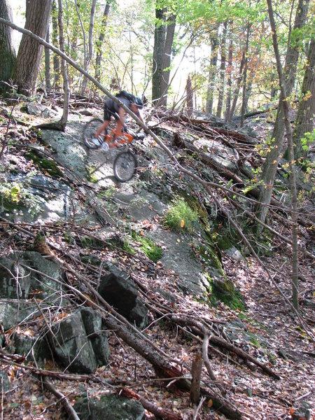 ALL-Mountain Appalachian Granite Rock-Riding at it's Best!
