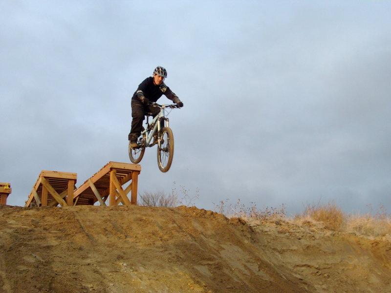 Ada/Eagle Bike Park dropping in...