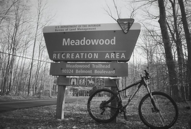 Can't miss the trailhead on Belmont Boulevard!