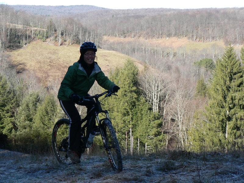 Frosty ride on Brads Trail