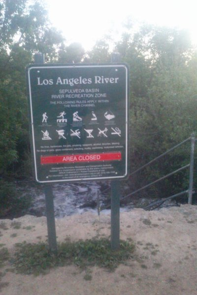 Sepulveda Dam- Los Angeles River