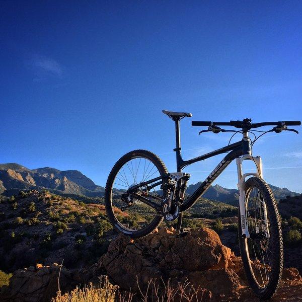 Strip Mine Trail mountain view