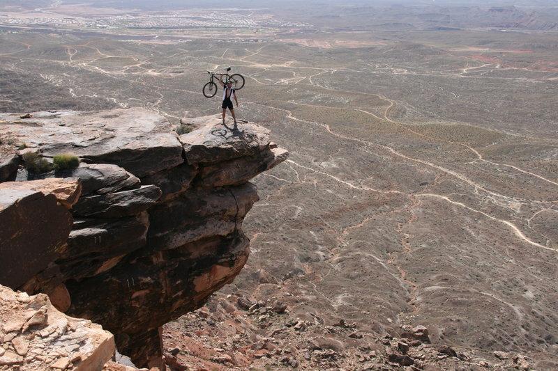 View at top of Zen