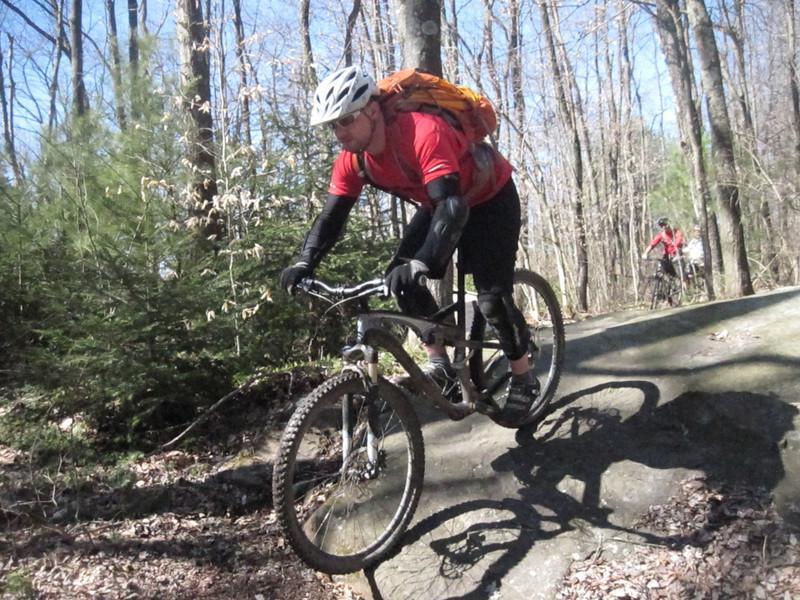 Yellow Creek - Handler's Long Haul Trail - The start of Rockness Monster