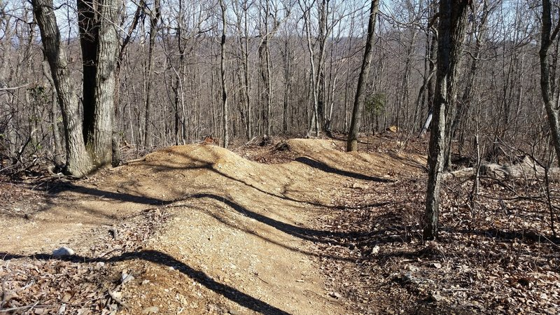 Some of the jumps on Psycho Path