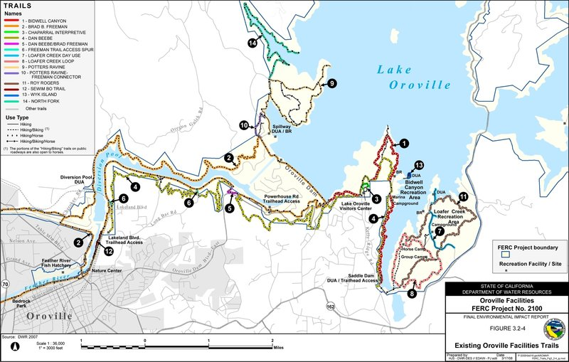 Local Trails Map