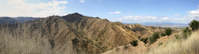 Towsley Canyon Panoramic.