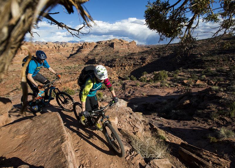 The climb up Hymasa trail has no shortage of incredible views.