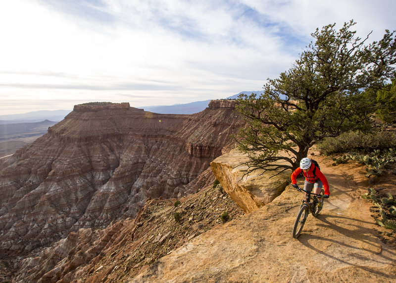 The South Rim has plenty of exposure to go allow with its amazing views.
