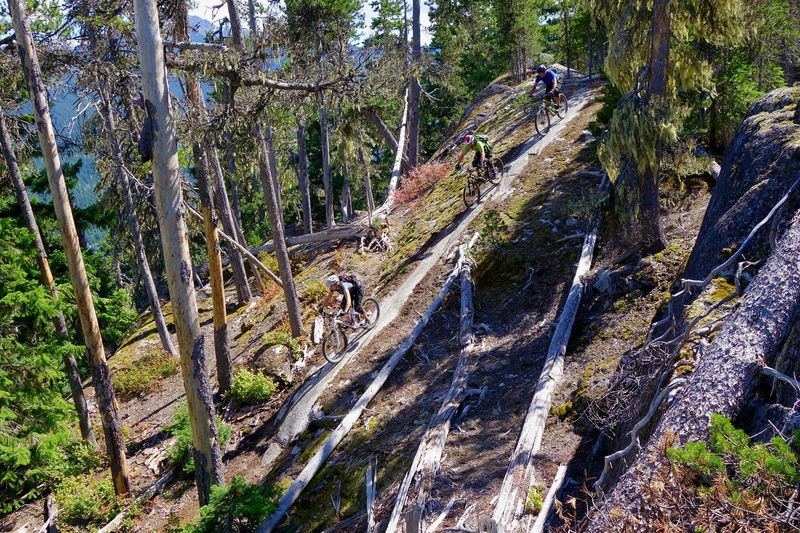 There is more than the bike park in Whistler - on the Rainbow-Sproat Flank Trail
