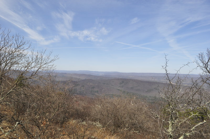 A sample of the great views waiting on Tuscarora County Line Trail!