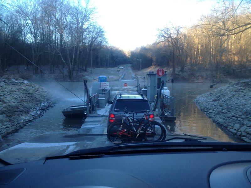 Green River Ferry Crossing