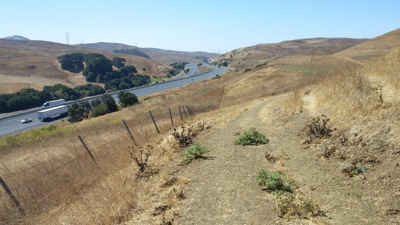 South Valley Trail, View of West 80