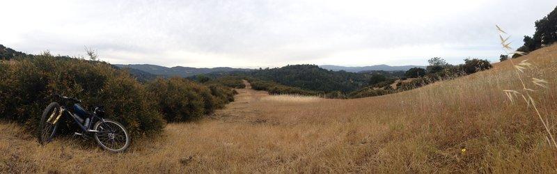 Nice meadow near the top.