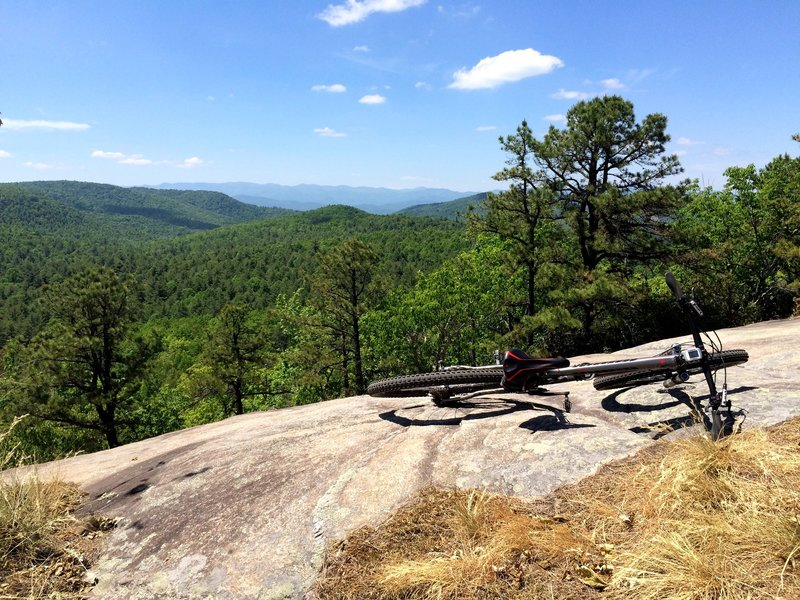 Best view in Dupont State Forest.