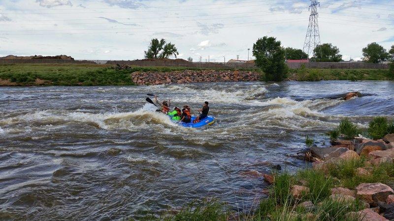 Inner City Whitewater Rafting!