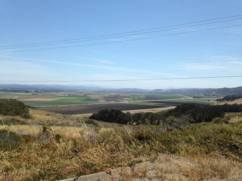 Over looking Lompoc Valley.