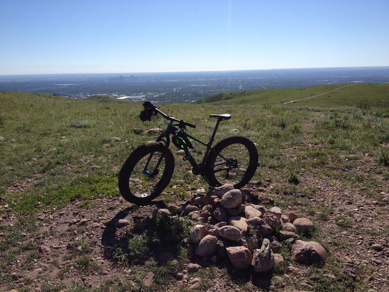 View from the top of Green Mountain