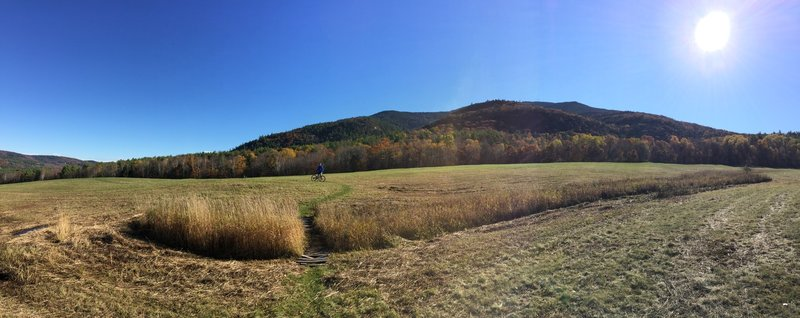 Hayride is super flow-eyy and a blast to ride!  Be careful of slipping on the morning dew!