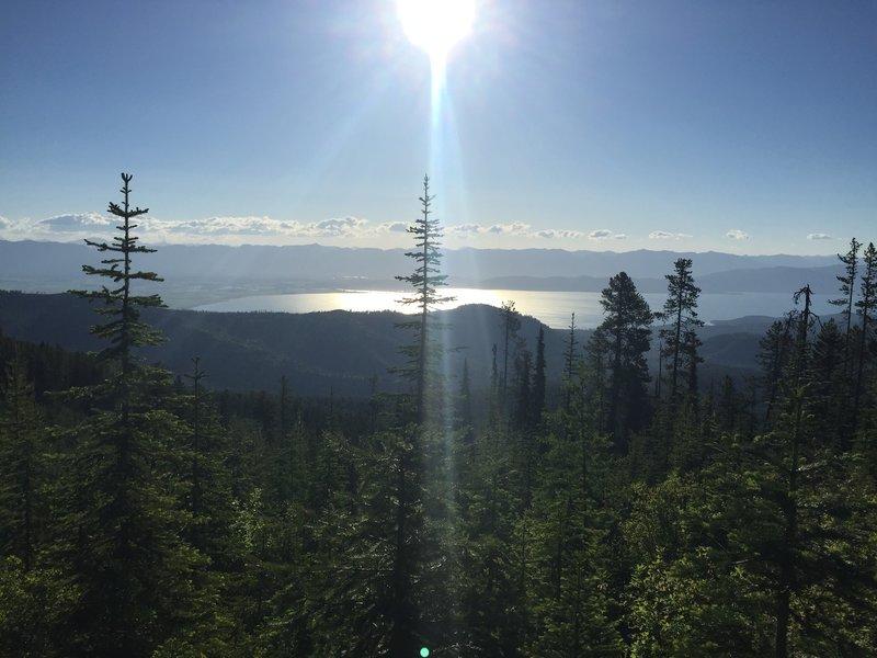 Eastern view of Flathead Lake
