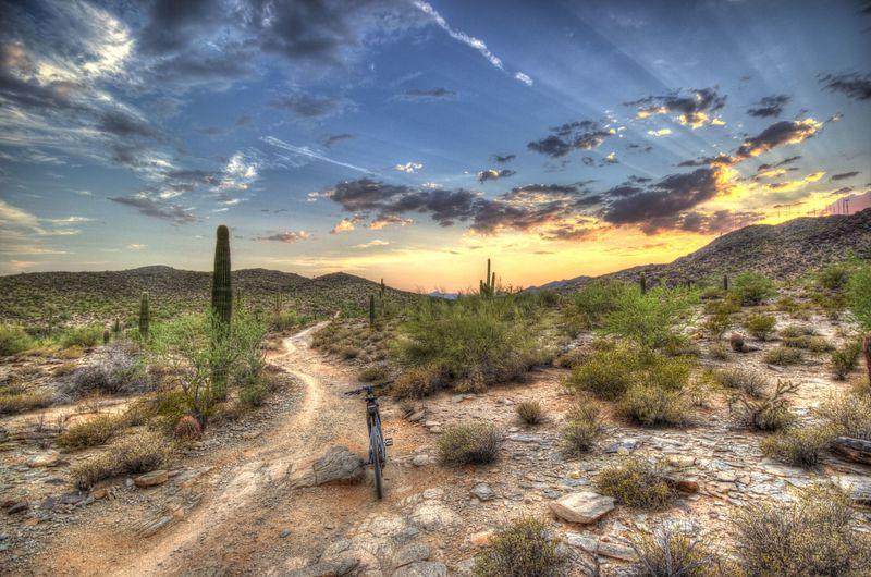 Desert Classic Mountain Bike Trail, Guadalupe, Arizona, hikes, Phoenix