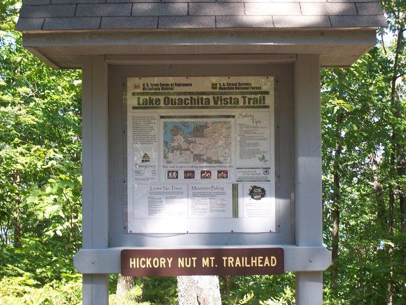 Hickory Nut Mountain Trailhead