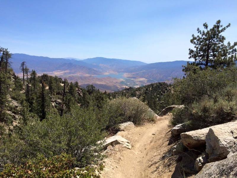 Get ready for a wild ride! 5k of elevation loss in ~8 miles. Rocks, switchbacks and chunder oh my!