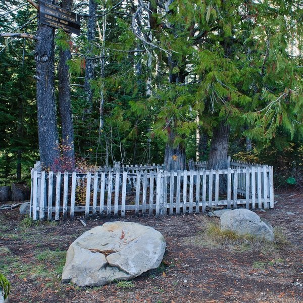 Pioneer Cemetery at Summit Meadow.  Photo by Kenneth Kruse