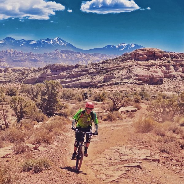 Magnificent 7 Trail in Moab, UT