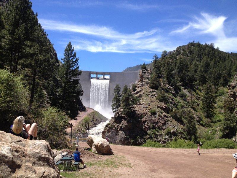 Strontia Springs Dam - Waterton Canyon