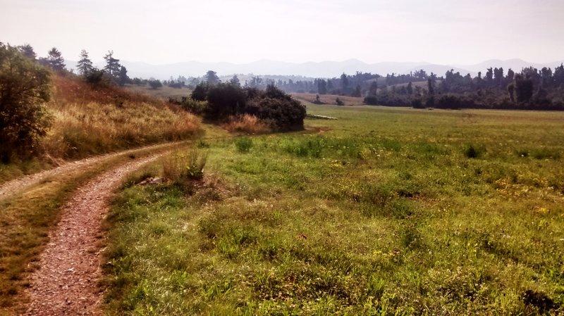 Crossing Pivka basin