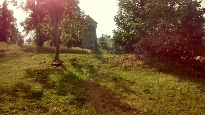 Remains of Kalec castle