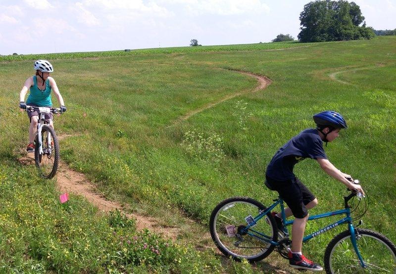 Coldstream short track course