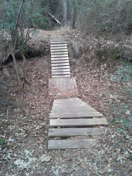 Mountain Bike ladder