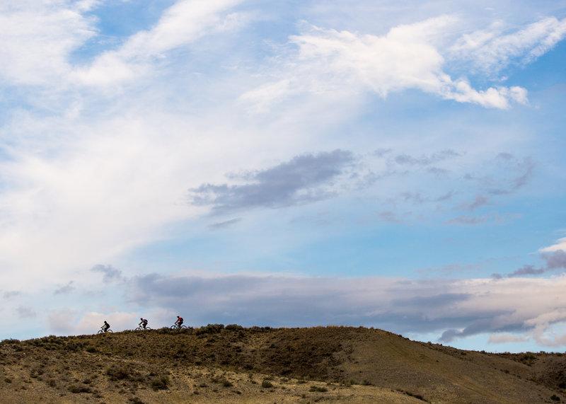 The ridge above Owl Canyon on Enduro trail.