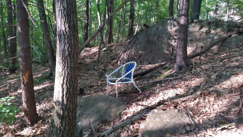 Chair trail namesake