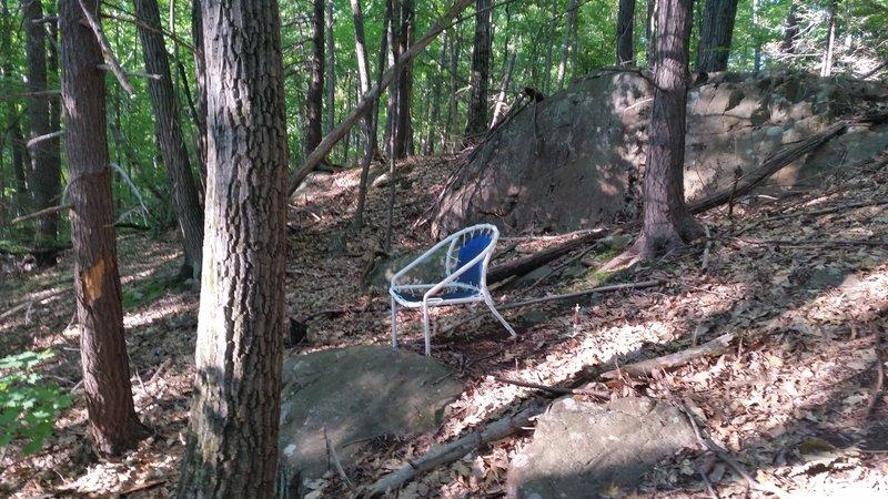 Chair trail namesake