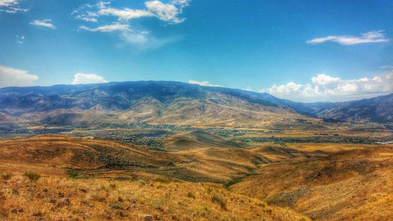 Cow Canyon Mountain Bike Trail, Verdi, Nevada