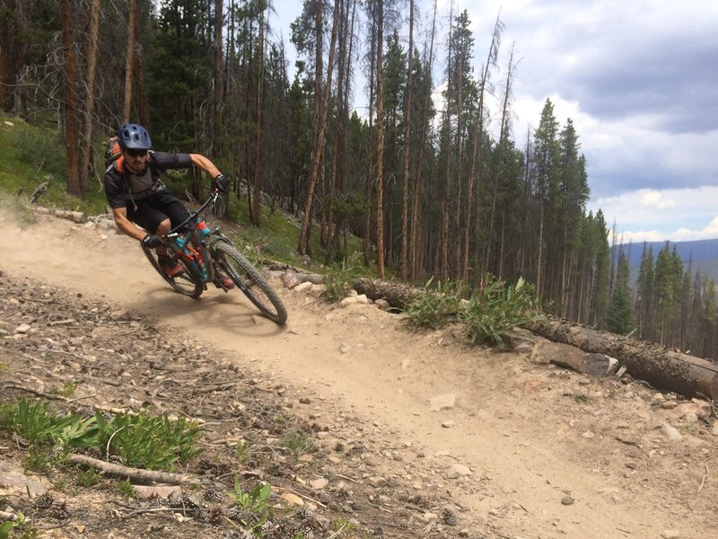 Berms for days on on Slalom Trail!!!